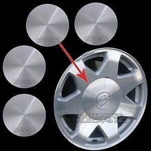 """Escalade Ext For Sale >> 02-06 Cadillac Escalade 17"""" Aluminum Wheel Center Hub Caps 6 Lug Rim Cover Hubs   eBay"""