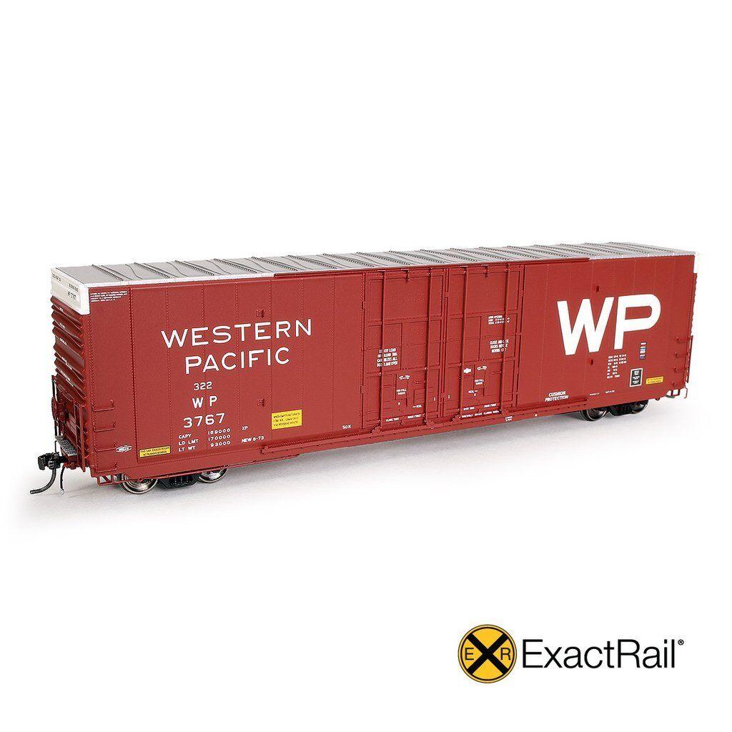 EXACTRAIL HO WP Greenville 7100 Auto Parts Boxcar WP EP-80302-4