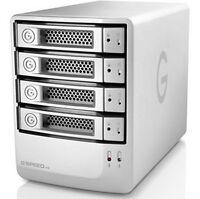 G-tech G-speed Es 8tb Enterprise Class 4 Drive Storage System W/ 3gb Esata
