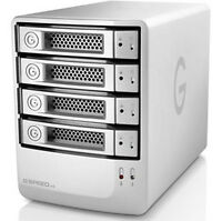 G-tech G-speed Es 8tb Enterprise Class 4 Drive Storage System W/ 3gb Esata