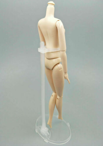 10 Pcs Doll Stand Display Holder for 11.5/'/' Toy Transparent Model Support Posing