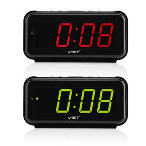 220V-Electronic-Table-Digital-Alarm-Clock-Desktop-LED-Display-Snooze-EU-Plug-LJ