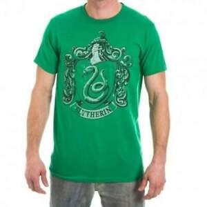 Officiel-Sous-Licence-HARRY-POTTER-Serpentard-Homme-Vert-T-Shirt