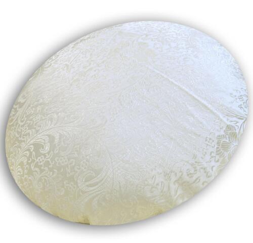 Floral leaf Faux Silk Brocade Jacquard Damask Kimono Fabric Material BL16