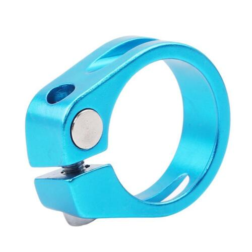 Bicycle Seat Post Quick Release Seatpost Clamp Cycling Tube Clip N3