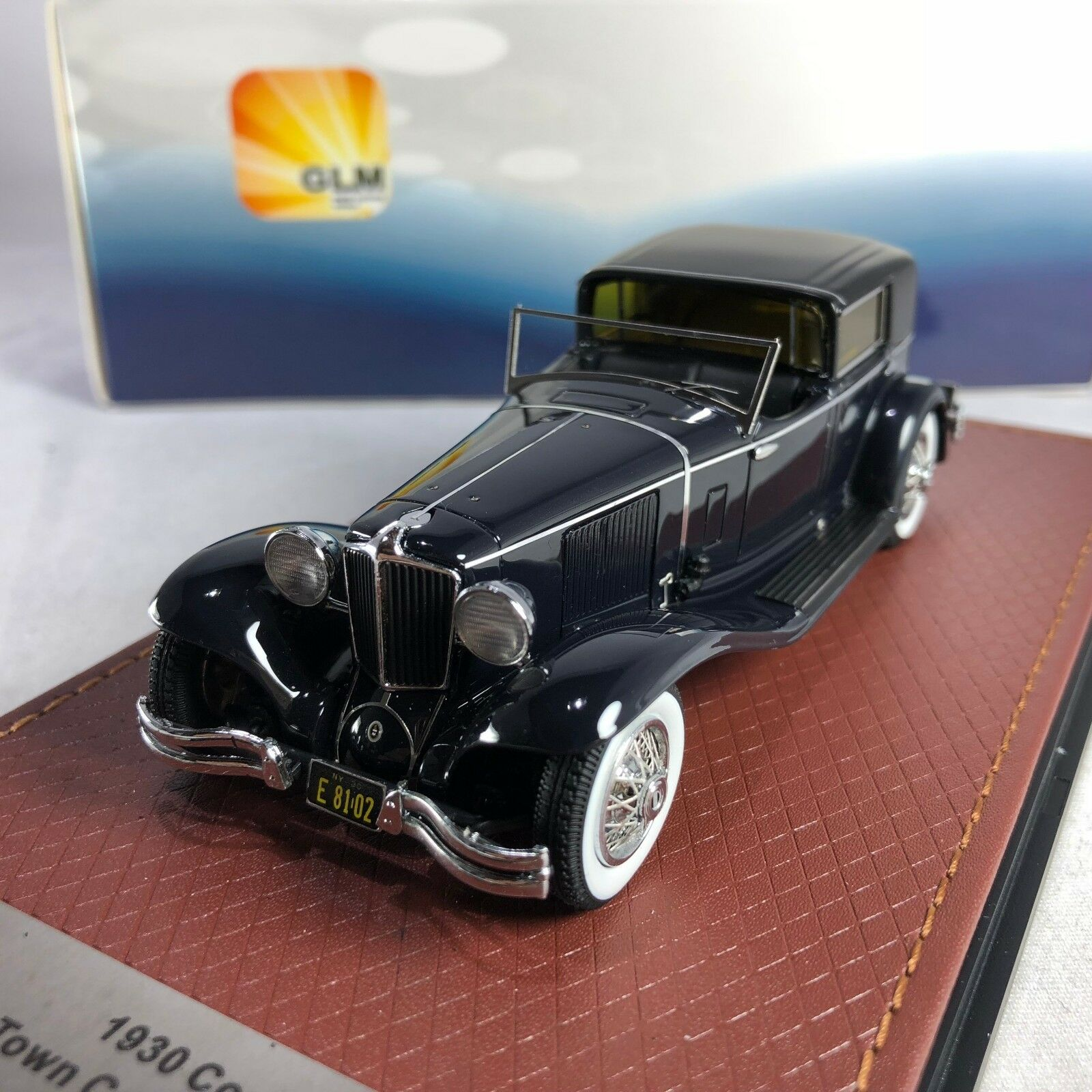 1 43 L-29 Cable GLM Town Car Murphy & Co 1930 nero GLM43108102