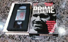 PRIME SUSPECT VINTAGE VHS! USA VIDEO 1981 RARE Drama Horror TV MOVIE! Halloween