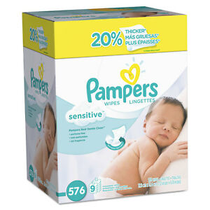 Pampers-Sensitive-Baby-Wipes-White-Cotton-Unscented-64-Pack-9-Pack-Carton