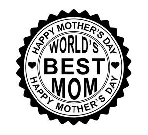 Details about Mothers-Day-Perfect-Gift-Happy-Mother-039-s-Day-ROUND-Self-Ink-Rubber-StamP -05