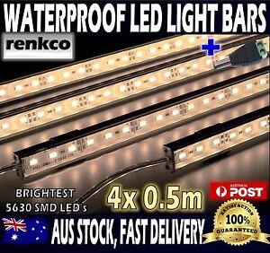 4x12v waterproof warm white 5630 led strip lights bars for car image is loading 4x12v waterproof warm white 5630 led strip lights aloadofball Image collections