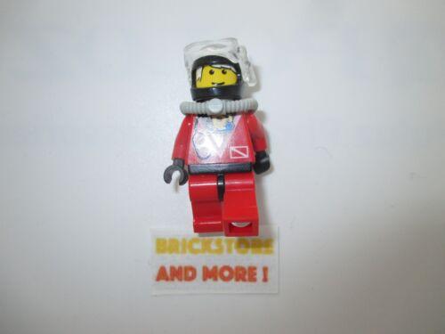 Minifigures Divers Red Diver 2 div018 Lego