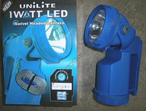 Beamaster Lens UNiLiTE Swivel Headed LED Lantern UK500 WITH BATTERY