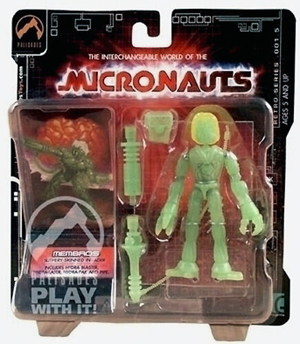 NEW Micronauts Palisades Radioactive Membros Exclusive Series 1.5 Limited MOC
