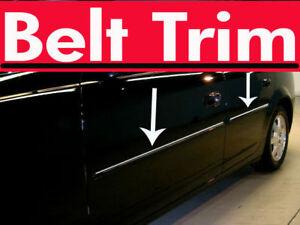 Dodge STRATUS CHROME SIDE BELT TRIM DOOR MOLDING 2001 2002 2003 2004 2005 2006