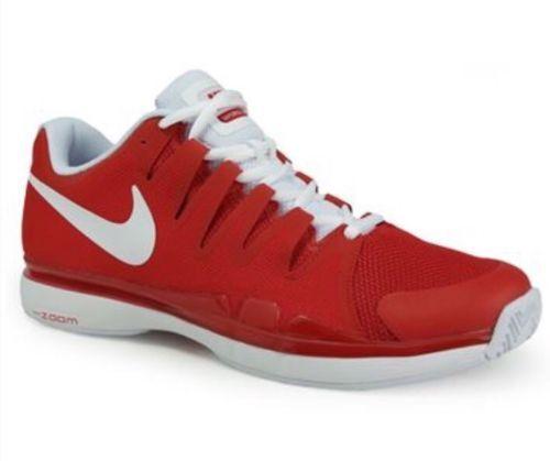 Nike Men's ZOOM VAPOR 9.5 TOUR TENNIS SHOES 6 Red/White 631458 601 Size 6 SHOES 52ccd5
