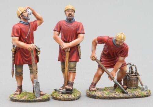 THOMAS GUNN ROMAN EMPIRE ROM083A IMPERIAL LEGIONNAIRE SHOVELING RED SHIELD MIB