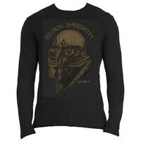 Black Sabbath Long Sleeve T Shirt US Tour 78 Official Mens Avengers Iron Man NEW