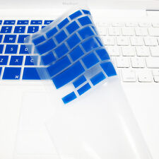 """FULL ROYAL BLUE Silicone Keyboard Skin Cover  for Old Macbook White 13"""" (A1181)"""