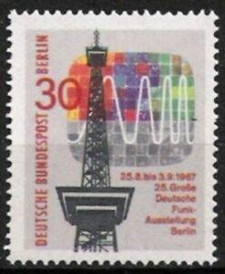 Confiant Berlin Nº 309 ** Exposition 1967, Cachet-g 1967, Postfrischfr-fr Afficher Le Titre D'origine