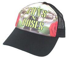 Guns N Roses Classic Logo Trucker Baseball Hat Cap New Official GnR OSFM