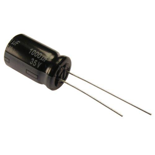 2 Elko Panasonic FR 1000uf 35 V condensateur 105 ° C Low aréoport same as FM 854433