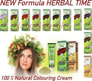 NATURAL-HENNA-COLORING-CREAM-HERBAL-TIME-HAIR-COLORANT-DYE-READY-TO-USE-75-ML