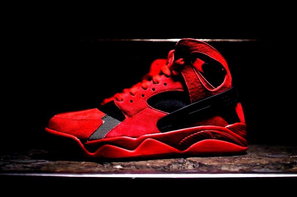 Nike air volo huarache qs sz 93 11,5 rosso 13 max 1 90 95 93 sz 97 forza schiacciante 270 180 332a38