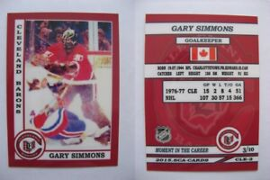 2015-SCA-Gary-Simmons-Barons-goalie-never-issued-produced-d-10-rare