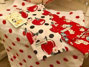 Details About Cath Kidston X Disney Snow White Set Of Tea Towels Brand New
