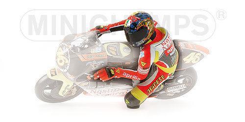 MINICHAMPS VALENTINO ROSSI ROSSI ROSSI 1 12 MODELLINO FIGURA RIDING APRILIA 250 GP 1999 NEW a90854