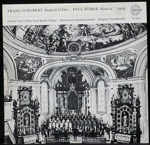 Schubert-Messe-in-G-dur-Paul-Huber-Missa-in-C-Urs-Schneider-LP-NM-CV-EX