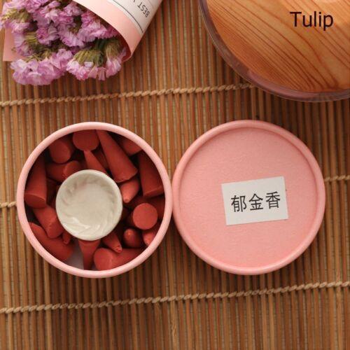 Natürliche Duftende Räucherstäbchen Rose Tulip Scent Turm Spice Parfüm