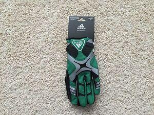NEW Adidas POWERWEB Football Receiver Gloves adult Green Black