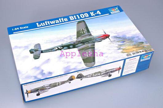 Trumpeter 02418 1 24 Luftwaffe Bf-109 K-4