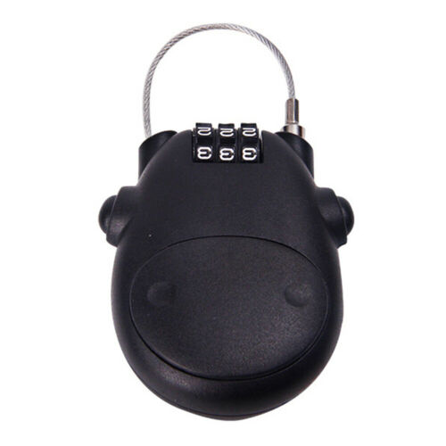 Luggage Telescopic Rope Password Lock Small Bicycle Combination Safety Portable