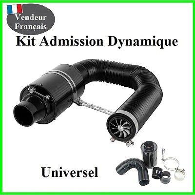 Devoto Kit Admission Dynamique Direct Universel Boite A Air Carbone Filtre,racing,sport