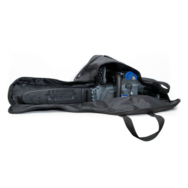 LawnKeeper CHAINSAW CARRY BAG Suits Up To 18 Inch Bar Blade, BLACK *Aust Brand