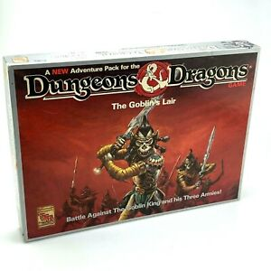 Vintage-TSR-Dungeons-amp-Dragons-The-Goblin-s-Lair-Board-Game-1992-Complete