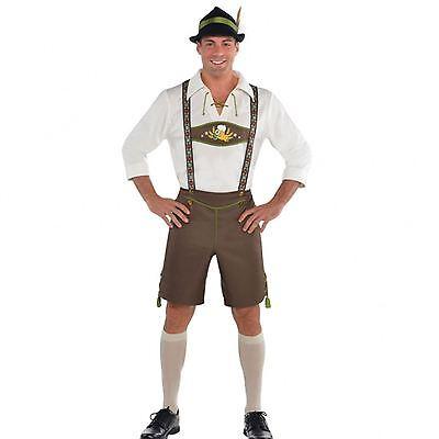 Bière bavaroise homme costume allemand oktoberfest lederhosen déguisement tenue
