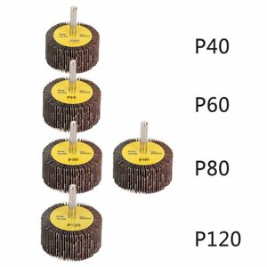 Mounted-Flap-Wheels-2-034-x-1-034-with-1-4-034-Shank-40-60-80-120-Grits-Aluminum-Oxide-f