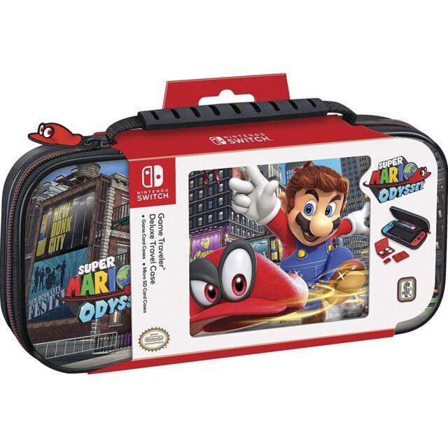 Custodia di Trasporto Deluxe Ufficiale Mario Odyssey BigBen [ Nintendo Switch ]