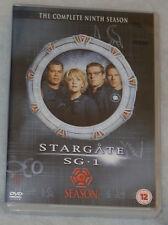 Stargate SG-1 Season 9 Nine Complete DVD Box Set - BRAND NEW SEALED UK Region 2