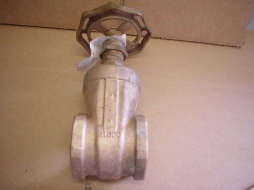 Nibco 2  Riego válvula de compuerta Clase 125
