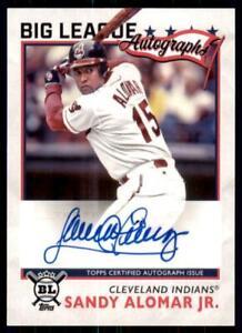 2020-Big-League-Auto-BLA-SA-Sandy-Alomar-Jr-Cleveland-Indians
