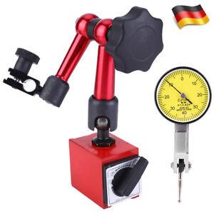 DE Base 0~0.8mm Hochpräzise Fühlhebelmessgerät Messtaster Messuhr Feintaster