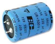 Capacitors - Aluminium Electrolytic - CAP ALU ELEC 330UF 500V SNAP IN