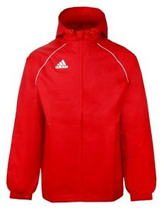 Adidas Jacket Top Men About Red Hood Details Cv3695 White Jackets Core Running Pn Gym 18 Rain 3L4R5Ajqc
