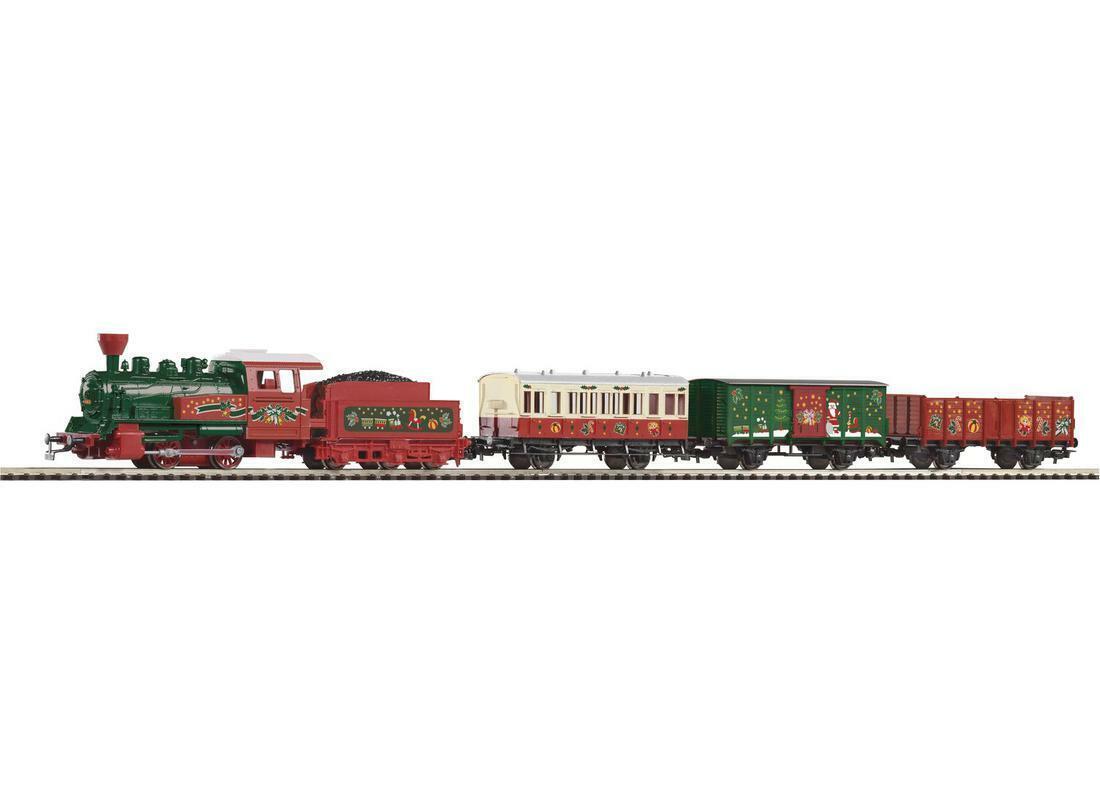 Piko 57080 Navidad Estrellater Set Locomotora de vapor con Tren H0