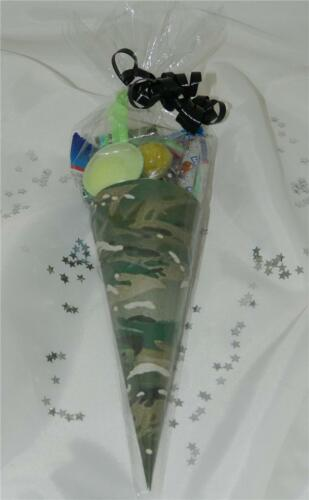 Army Pre Filled Sweet Cone Cones Party Bag Fillers Birthday Favours