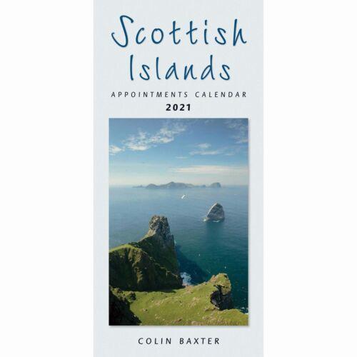 Scottish Islands Slim Calendar 2021 Colin Baxter